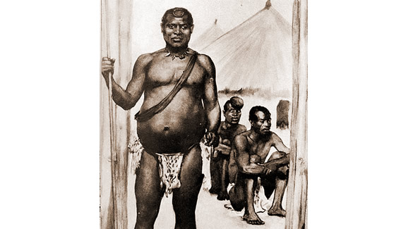 Lobengula, King of the Matabele
